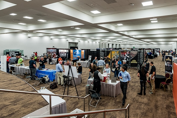 Benton Convention Center Trade Show Exhibit Floor