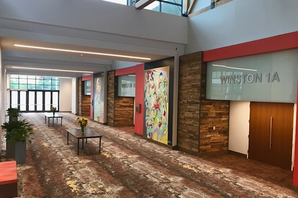 Newly Renovated Benton Convention Center Meeting Space
