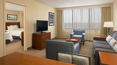 Embassy Suites Guest Room with Double Beds