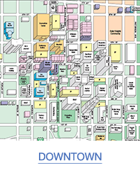 Map of Downtown Winston-Salem