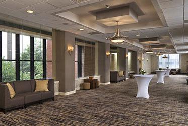 Marriott Winston-Salem Pre-Conference Reception Area