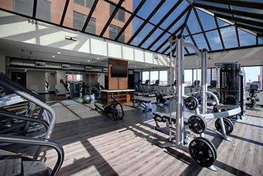 Marriott Winston-Salem Fitness Center - Third Level